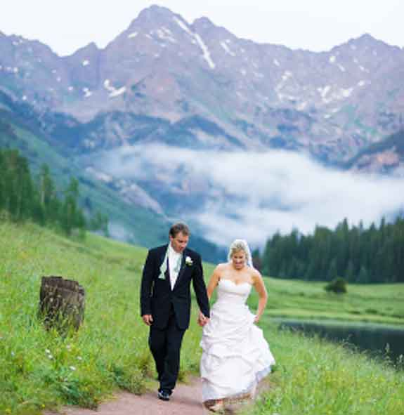 Beautiful Mountain Wedding Destination