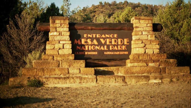 Mesa Verde Park Entrance