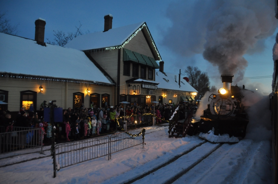 Ticket prices for the Durango Polar Express train experience start at ...