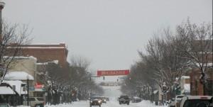downtown durango snow
