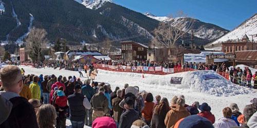 Silverton Skijoring