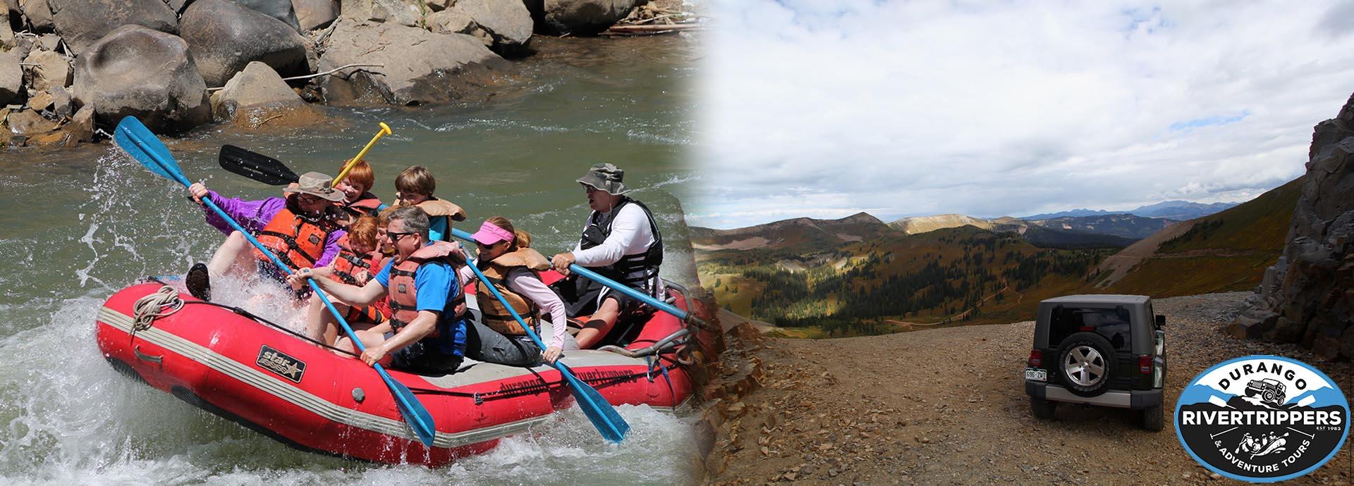 Rafting in Durango, Colorado