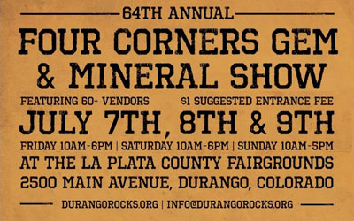 64th Annual Gem & Mineral Show