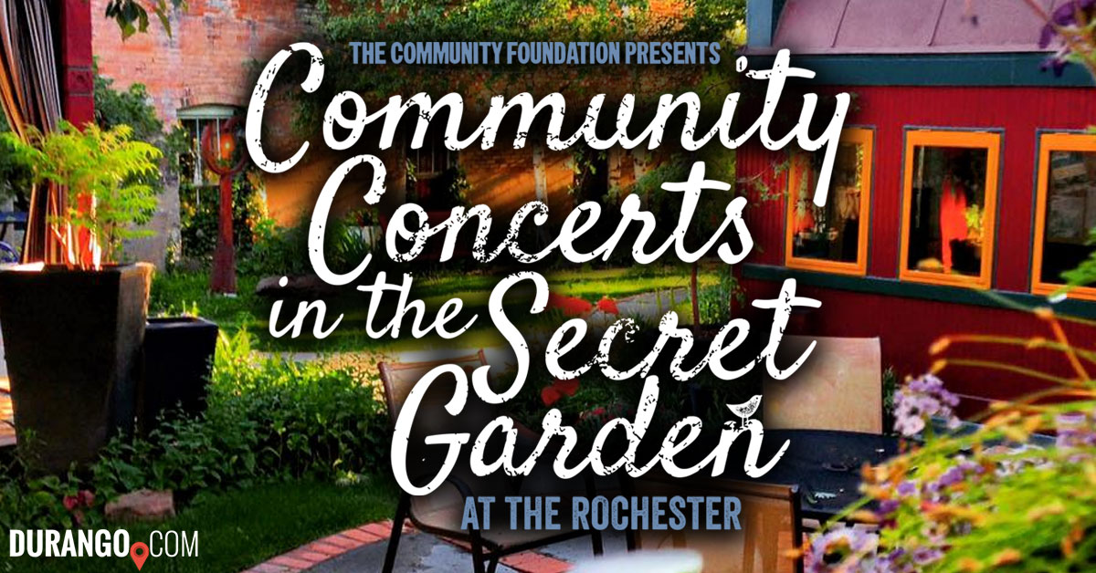 The Rochester Hotel S Secret Garden Concert Series 2017
