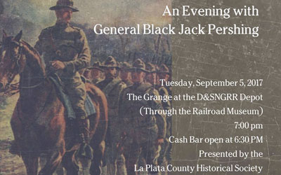 An Evening with General Black Jack Pershing