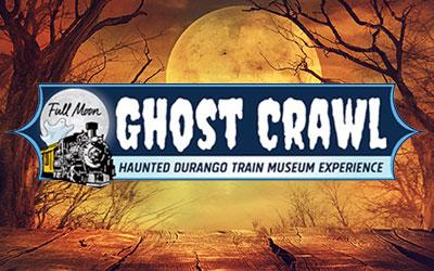 Full Moon Ghost Crawl: Haunted Durango Train Museum Experience