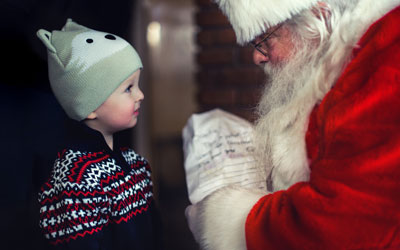 Singing With Santa & Downtown Christmas Tree Lighting