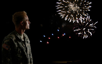 Veteran's Day Fireworks