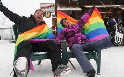 Gay Ski Weekend at Purgatory