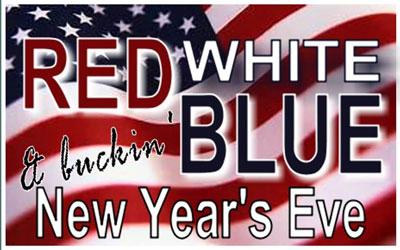 Red, White & Buckin' Blue NYE