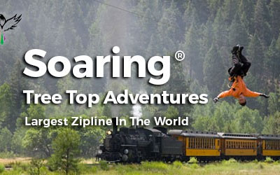 Opening Day at Soaring Tree Top Adventures
