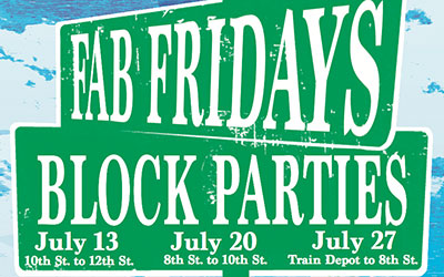 Fab Fridays Block Party