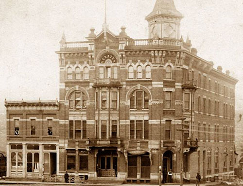 history of the strater hotel