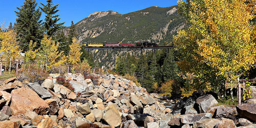 train rides in colorado