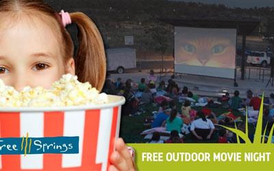 Three Springs Free Outdoor Movie Night