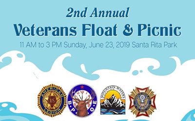 Free Veterans Float & Picnic