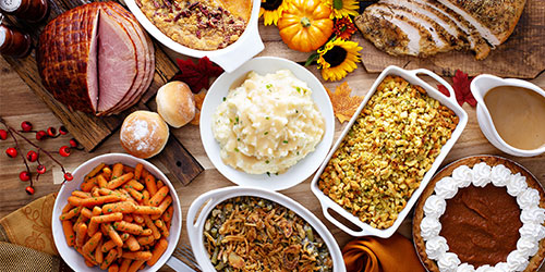 thanksgiving day meals