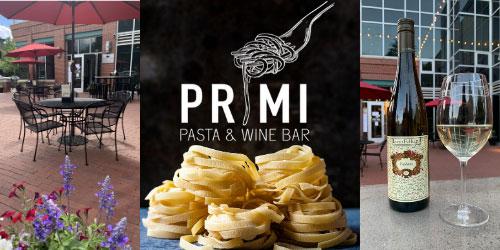 PRIMI Pasta & Wine Bar: Visit Website