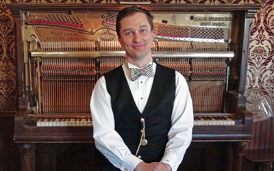 Adam Swanson: Ragtime at the Belle