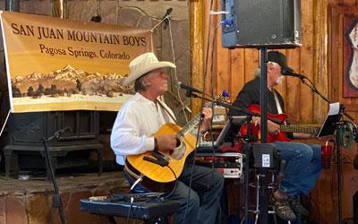 San Juan Mountain Boys Live