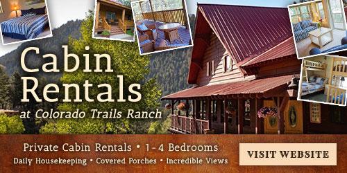 Colorado Trails Cabins: Visit Website