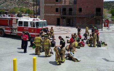 Fire Training Facility Dedication